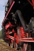 Antigua locomotora — Foto de Stock