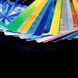 Stockfoto: Credit cards