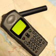 Satellite phone — Stock Photo