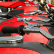 Red motorcycles — Stock Photo