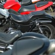 Stock Photo: Motorcycles