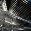 Motorcycle engine — Stock Photo #2025874