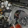 Dragster interior - Stock Photo