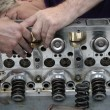 Engine maintenance — Stock Photo