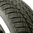 White walled tire - Stock Photo