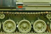 Tank tracks — Stock Photo