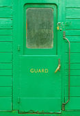 Guards door — Stock Photo