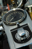 Motorcycle dials — Stock Photo