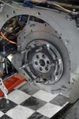 Race car transmission — Stock Photo