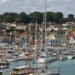 Cowes marina — Stock Photo
