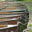 Rowing boats — Stock Photo