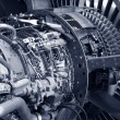 Jet engine detail — Stock Photo #2047497