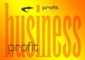 Business profit — Stock Photo
