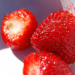 Fresh strawberries — Stock Photo #2070081