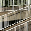 Stock Photo: Metal railings