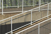 Metal railings — Stock Photo