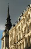 Gothic spire — Stock Photo