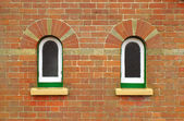 Arched windows — Stock Photo