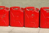 Gas cans — Stock Photo