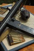 WW2 weapons — Stock Photo