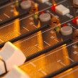Stock Photo: Soundboard
