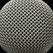 Royalty-Free Stock Photo: Microphone macro