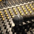 Royalty-Free Stock Photo: Soundboard and mic