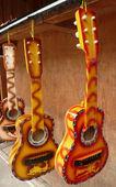 Spanish guitars — Stock Photo