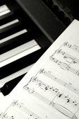 Música de piano — Fotografia Stock