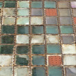 Mosaic floor — Stock Photo
