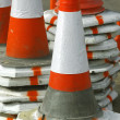 Royalty-Free Stock Photo: Traffic cones