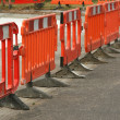 Roadwork barriers — Stock Photo #2163857