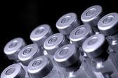 Aşı şişeleri — Stok fotoğraf