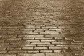 Copper cobbles — Stock Photo