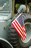 Vintage military vehicle — Stock Photo
