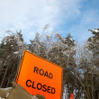 Road closed — Stock Photo #2195259