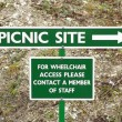 Picnic site — Stock Photo