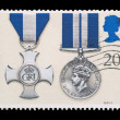 Stock Photo: Distinguished service medals
