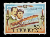 Wright brothers — Stock Photo