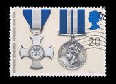 Distinguished service medals — Stock Photo