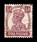 Indian stamp — Stock Photo