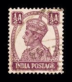 印度邮票 — 图库照片