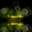Fireworks (salute) and reflection — Stock Photo #2037027