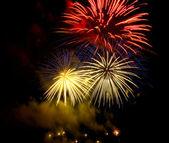Fireworks (salute) — Stock Photo