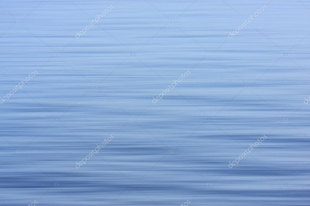 Blue blured water surface  Stock Photo #2059427
