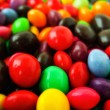 Mulity color candies - Stock Photo
