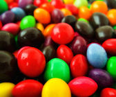Mulity color candies — Stock Photo