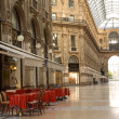 Galleria Vittorio Emanuelle in Milan - Stock Photo