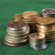 Coin stacks — Stock Photo #2033952