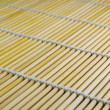 Stock Photo: Diagonall bamboo mat texture